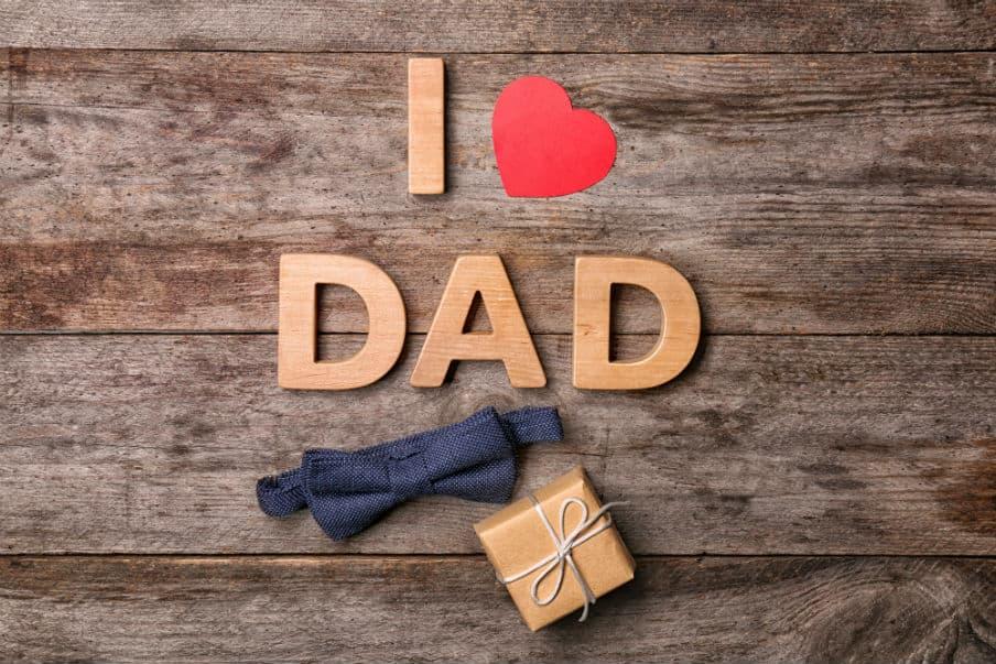 Finde gaven til far her