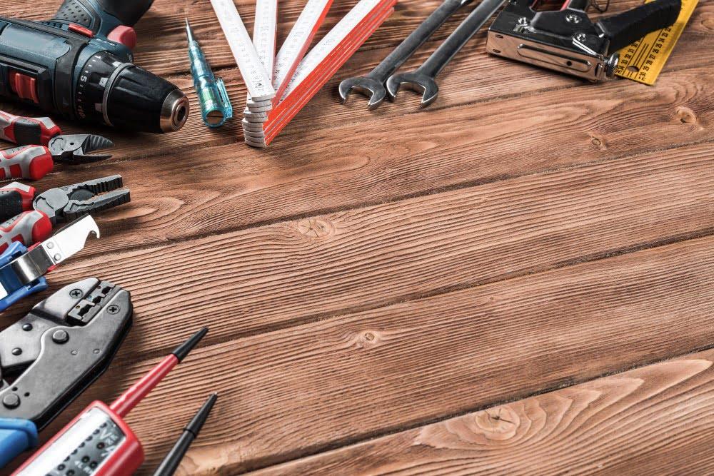 Værktøj der kan købes i et byggemarked